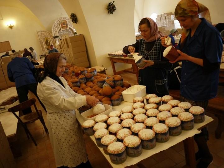 Монастырские куличи по рецепту из Введенского женского монастыря