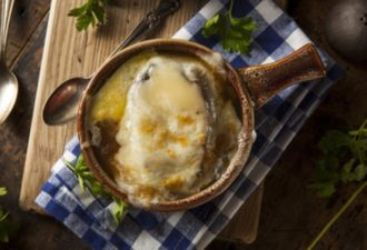 Рецепт классического французского лукового супа