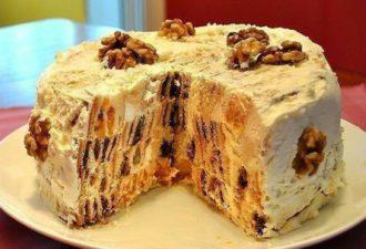Классический рецепт торта трухлявый пень.