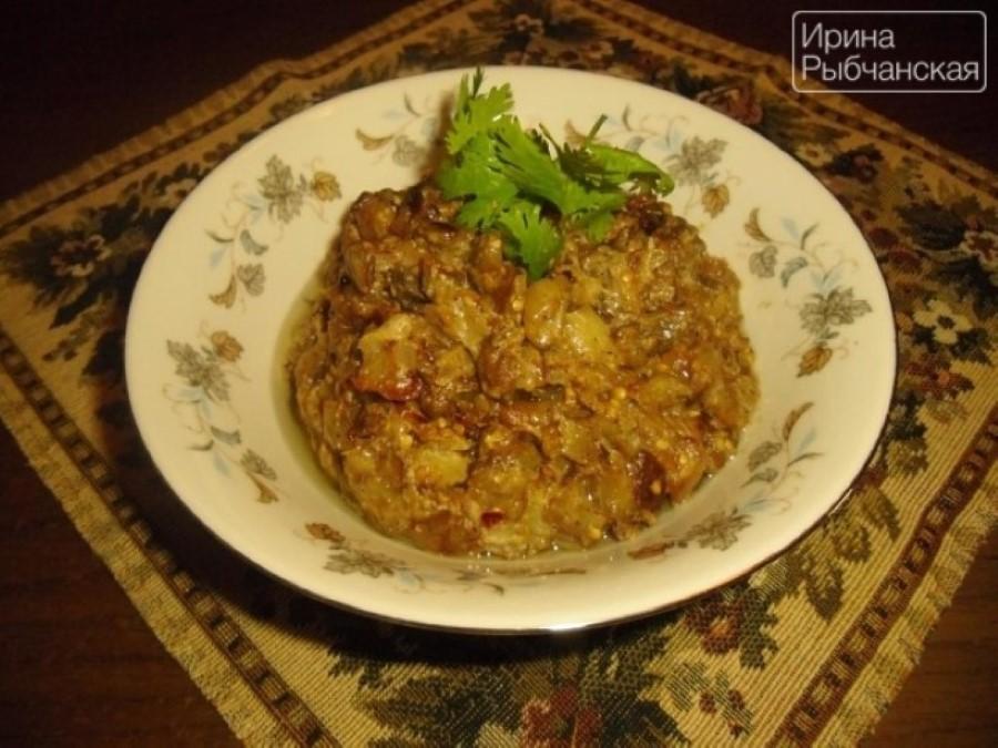 Рецепт баклажан со сметаной